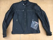 "RK Sport Mens Cruiser  Leather Motorcycle Motorbike Jacket UK 38"" chest (J59)"