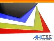 GFK Platten 0,5 - 2,0 mm / G10 FR4 schwarz Glasfaser Platte / rot blau orange ..