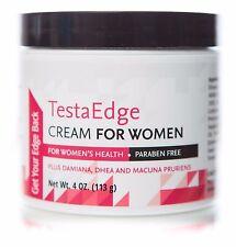 TESTAEDGE TESTOSTERONE BOOSTER CREAM GEL WOMEN FEEL BETTER MORE ENERGY & STAMINA
