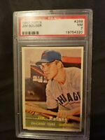1957 TOPPS #289 JIM BOLGER - CHICAGO CUBS - NM PSA 7 GRADED MLB - CENTERED