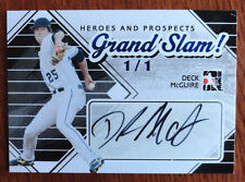 1/1 Deck McGuire 2010-11 In the Game Heroes and Prospects Grand Slam Auto 1 of 1