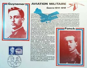 WW1 Aviation Military Picardie Amiens France Sheet Philatelic 24