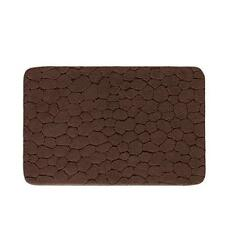 Tappeto da bagno 50X80 cm Gedy cotone 100% serie Klimt moka con fondo in latex