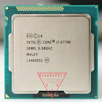 Intel i7-3770K CPU 3.5 GHz Quad-Core CPU Processor 8M 77W LGA 1155 4 Cores SR0PL