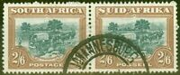 South Africa 1949 2s6d Green & brown SG121 V.F.U