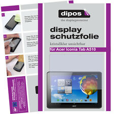 Dipos Crystalclear Displayschutzfolie für Acer Iconia Tab A510 Displayfolie