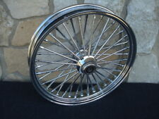 "21X3.5"" ABS DNA FAT SPOKE 40 SPOKE FRONT WHEEL HARLEY DELUXE SOFTAIL 08-UP"