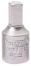 "DRAPER 38324 8mm SQUARE DRAIN PLUG KEY 3/8"" SQ. DR.CITROEN PEUGEOT RENAULT VOLVO"