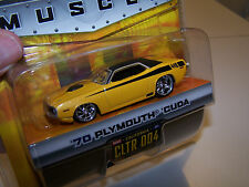 Jada Toys Wave 1 Dub City 2004 Big Time Muscle '70 Plymouth Cuda - CLTR 004
