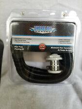 """Boat Bilge Pump Plumbing Kit 3/4"""" x 5' Hose -Thru-Hull fitting"""