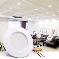 Recessed LED Ceiling Panel Light Round Downlight Spotlight Lighting Lamp 5-15W