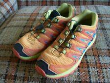 "Salomon Mens 5 ""XA PRO"" Multicolor Hiking Shoes Bungee Lace 392920"