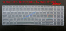 US Keyboard Silicone Skin Cover Protector for Asus VivoBook15X 2020 year version