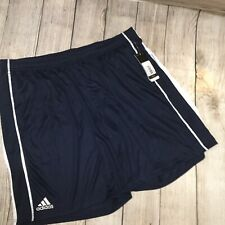 NWT Mens Adidas Utility 3p Shorts Collegiate Navy/White 2XL  MSRP $40.00