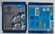 "1X PACKET PANINI CHAMPIONS LEAGUE 2012-13 pochette bustina ""CONTIENE 5 FIGURITAS"
