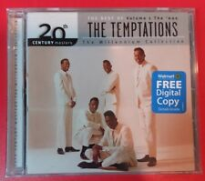 """THE BEST OF VOLUME 1 THE '60s THE TEMPTATIONS (CD, 1999 - USA - Motown) """"NEW"""""""
