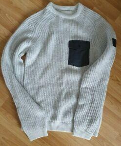 RIVER ISLAND - JUMPER - XS - GREY - NEW WITH TAGS