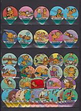 Série étiquettes crèmes à café KRD Chats  Garfield 1