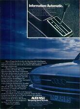 Audi-100LS-1971-Reklame-Werbung-genuine Advert-La publicité-nl-Versandhandel
