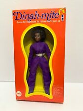 "MEGO 8"" BLACK DINAH-MITE Figure - 1971/72 MIB Box C8/8+"