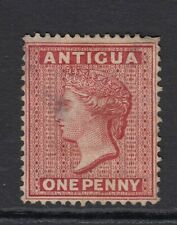 Antigua SG16 1876 QV 1d Lake Wmk Crown CC Perf 14 Mint no gum