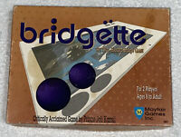 Bridgette The Two Handed Bridge Game Board Game Open Box Cards Factory Sealed