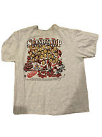 Vintage Detroit Red Wings 90's 1998 NHL Stanley Cup Champs T Shirt XL