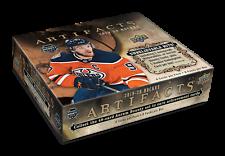 2019-20 Upper Deck Artifacts хоккейные хобби коробка новый/запечатанный + НХЛ плеер подписал карточку