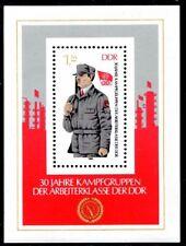 DDR 1983 Block 72 ** 30 Jahre Kampfgruppen. TOP