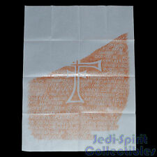Indiana Jones Replica Prop - Grail Tablet Rubbing (Handmade Item)