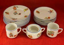 Antique Beyer & Bock Germany HAPPY FAT or Happifats Children's Tea Set 16 pieces