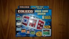 COLECO Video GAME SYSTEM 6 Games Football Soccer Plug Play Hockey