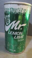 MR. LEMON-LIME WIDE SEAM STEEL SODA CAN    -[READ DESCRIPTION]-