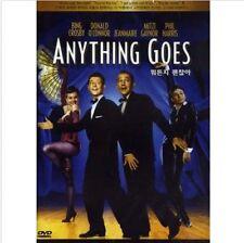 ANYTHING GOES (1956) DVD (Sealed) ~ Bing Crosby, Mitzi Gaynor