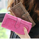 2015 New Style Retro Matte Stitching Lady Women Wallet Long Card Holder Purse