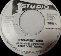 "Eddie Constantine Tennament Yard 7"" Reggae 45 Studio One"