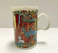 Dunoon Stoneware Christmas Cheer Santa's Arrival Coffee Tea Mug/Cup Scotland