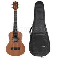 Professionelle 26 Zoll Tenor Ukulele Uke Hawaii Gitarre Sapele 18 Fret Tasche