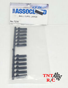 12pcs of Team Associated Large Ball Cups Part# 7230 with Free Shipping!!