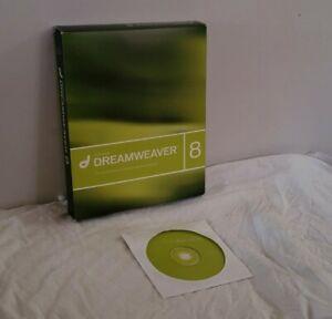 Macromedia Dreamweaver 8 for Windows/Mac CD - NO SERIAL NUMBER/CD KEY