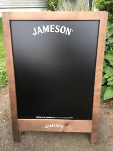 """Jameson """"A"""" frame wood framed chalk board. double sided. new Over 3ft Tall"""