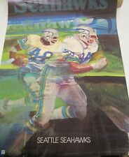 Seattle Seahawks 1976 NFL Football Poster 24 x 36 Vintage RARE