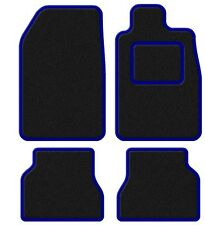 Mitsubishi MPV Spacewagon (6 Seater) 99-03 Velour Black/Blue Trim Car mat set
