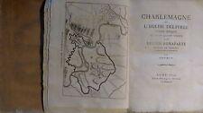 BONAPARTE Lucien. Charlemagne ou l'église délivrée. Bourlié, 1814. 2 vol.Complet