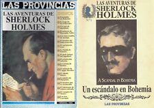 RARE EO 18 FASCICULES LAS AVENTURAS DE SHERLOCK HOLMES