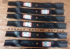 "New Set Lot of 6 AYP 42"" Mower Blades 134149 138971 US Seller"