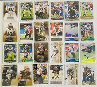 New Orleans Saints (24) Card Lot Drew Brees Michael Thomas Alvin Kamara Graham