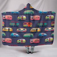 Caravan Hooded Blanket