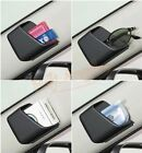 2x Universal Car Auto Accessories Phone Organizer Storage Bag Box Holder Black