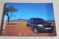 80666) Land Rover Freelander Prospekt 2000